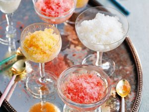 Гранита – идеальный сицилийский десерт