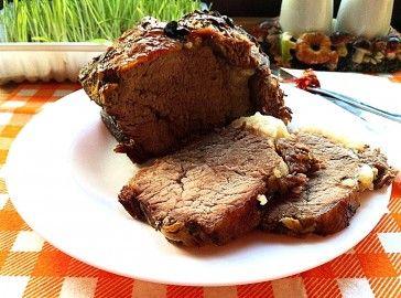 Вкусная и сочная говядина запеченная в духовке