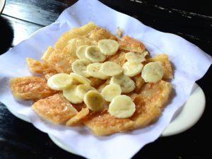 Готовим необычные банановые блинчики