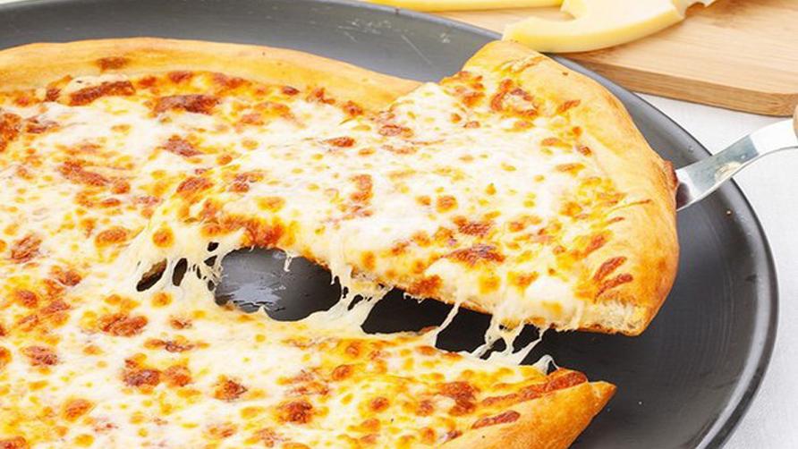 Творожно — сырная пицца