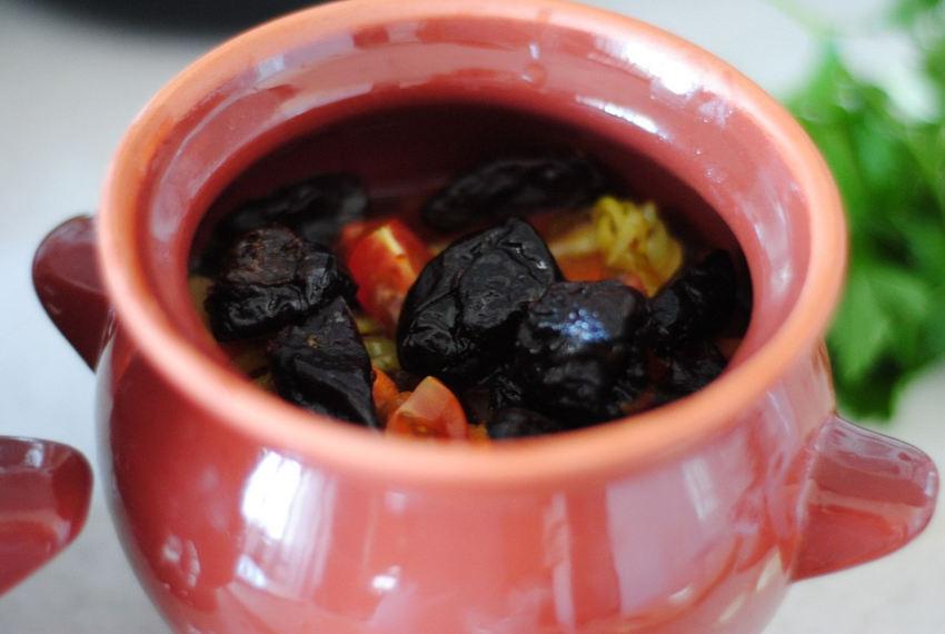 Суп из баранины с крупой