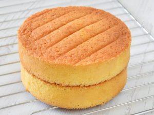 Классический бисквит в духовке