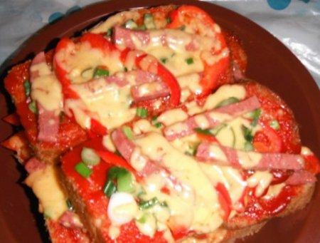 Бутерброд-пицца