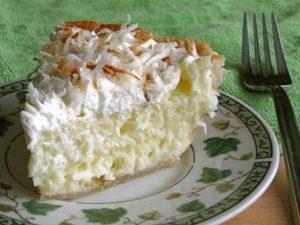 Ванильно-кокосовый пирог