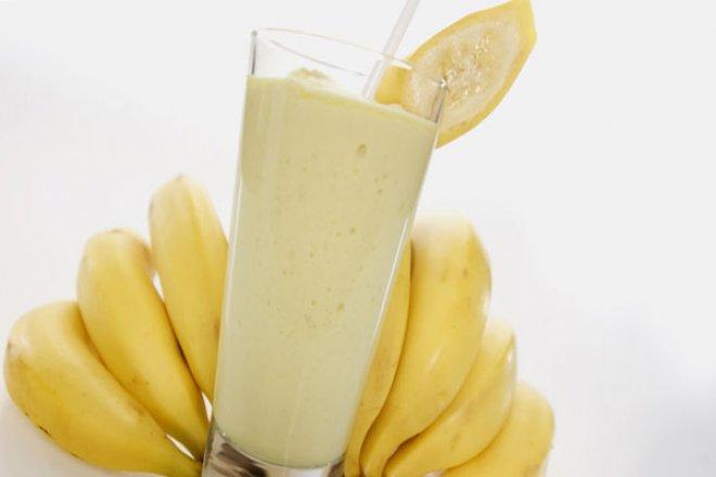 Легкий банановый мусс-коктейль