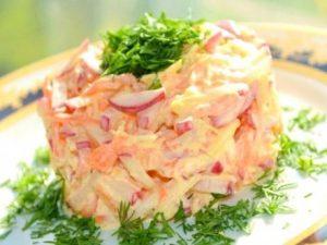 Cалат овощной «Витаминка»