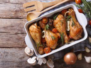 Рецепт диетической запеченной курицы для тех, кто переел на новогодние праздники