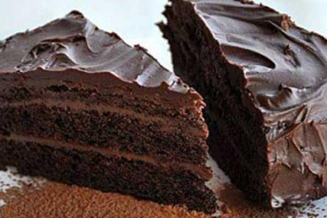 Простой шоколадный торт в микроволновке