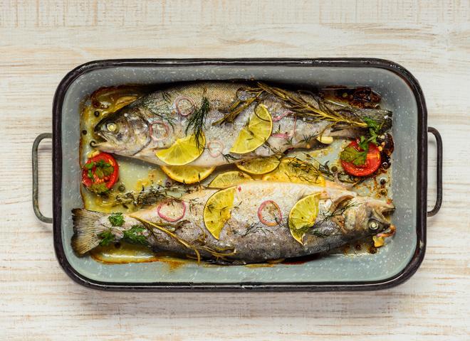 Рыба голец: рецепт приготовления в духовке