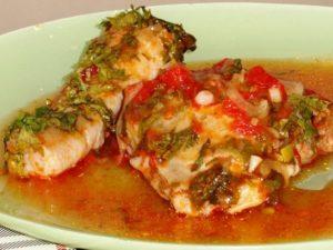Традиционное куриное чахохбили