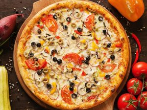 Вкусная вегетарианская пицца за 20 минут