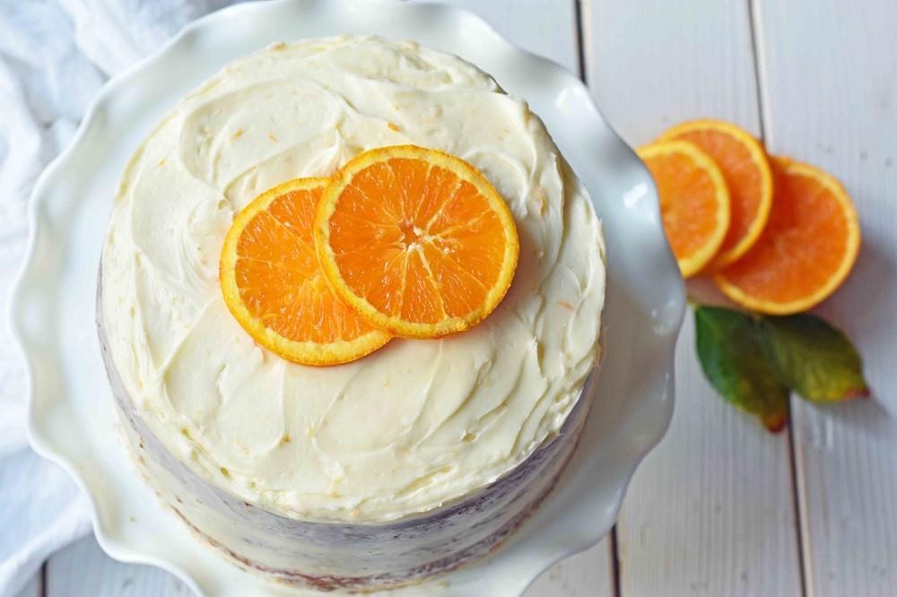 Рецепт диетического торта с апельсинами
