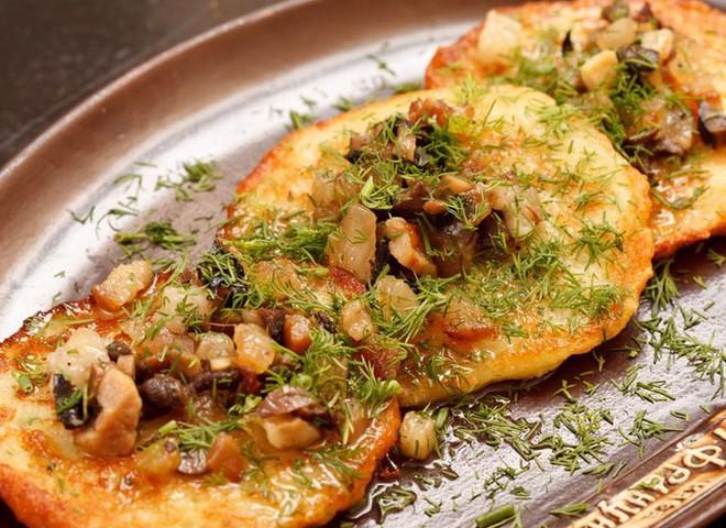 Драники картофельные: рецепт с жареным салом