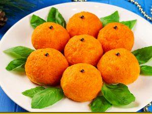 Салат мандаринка