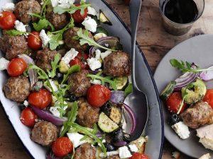 Рецепт мясных шариков с овощами