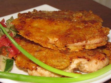 Жареное сочное куриное филе