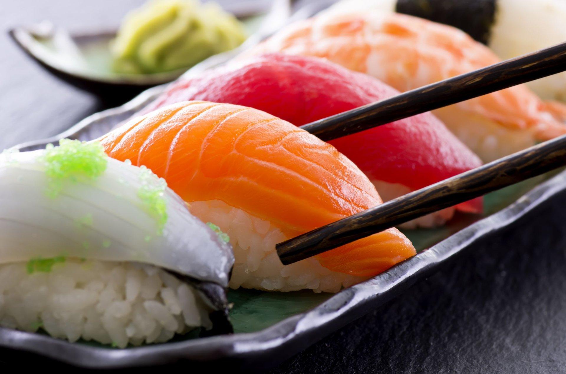 Суши — неожиданный источник калорий!