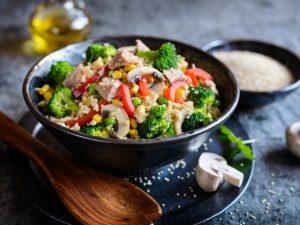 Летний салат из капусты для похудения