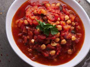 Томатный суп по-итальянски