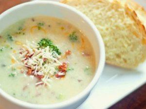 Легкий крем-суп из овощей