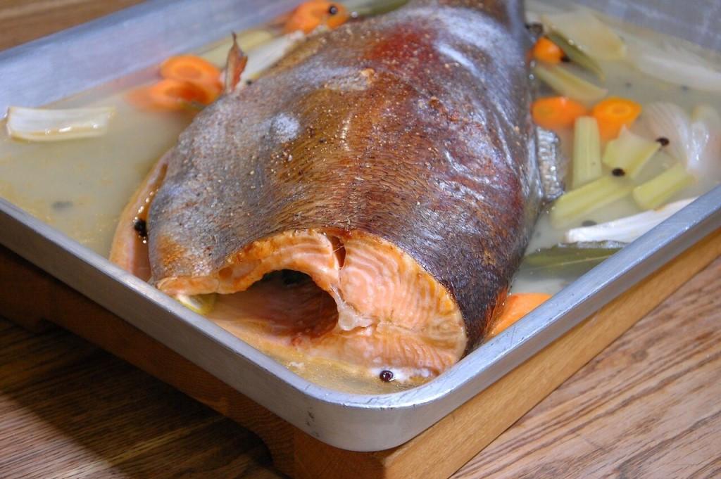 Рыба в винном соусе