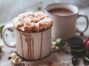 Какао с ликёром