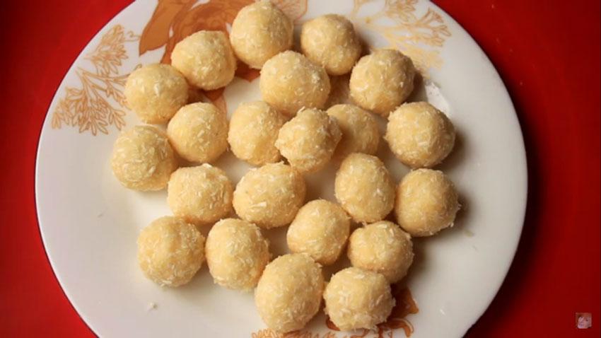 Домашние конфеты «Баунти» из пшена