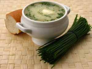 Рецепт приготовления супа с луком-пореем