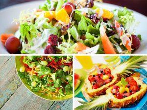 Салат с виноградом: мясной, овощной и празднично-фруктовый