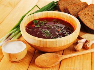 Как варить борщ – традиционное украинское блюдо