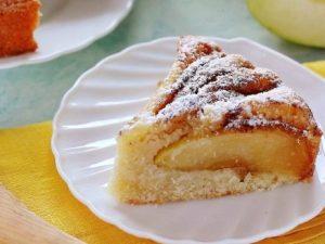 Постный манник с яблоками — вкусный, пышный и очень ароматный пирог