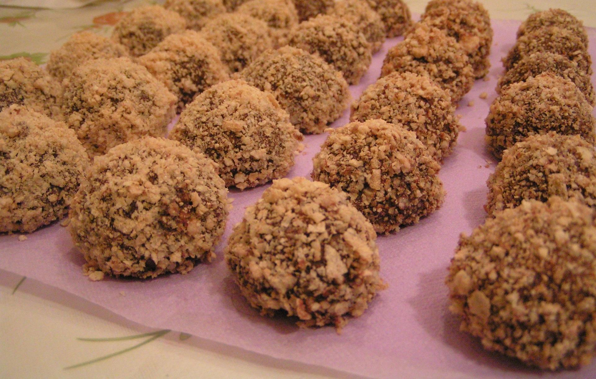 Печенье «Каштаны»