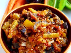 Овощи, запеченные в духовке «Любимые»
