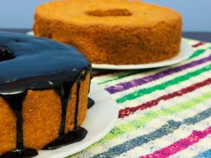 Морковный пирог с глазурью по-бразильски