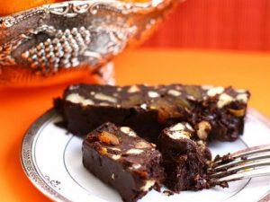 Простой рецепт, шоколадный торт с печеньем