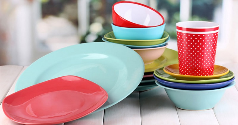 Цветная посуда как способ похудеть?