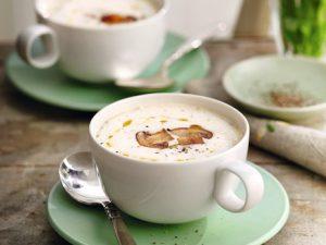Суп-капучино из белой фасоли
