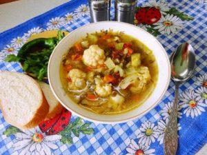 Суп из чечевицы с картошкой в мультиварке