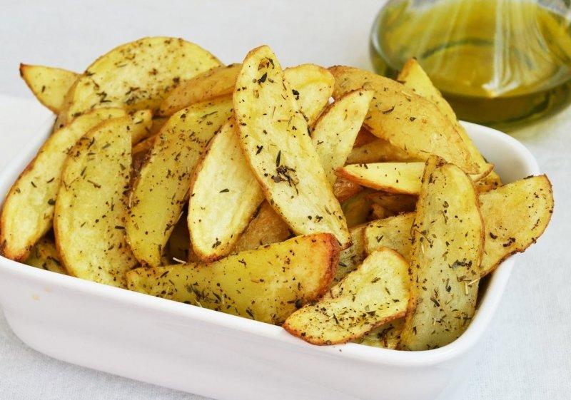 Запечённый картофель