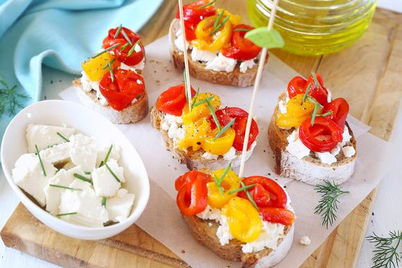 Вегетарианский бутерброд