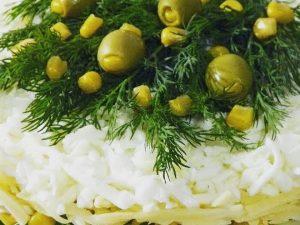 Салат «Новогодняя сказка»