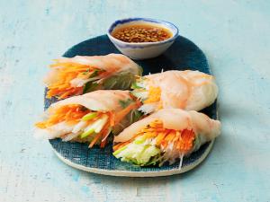 Ужин легче легкого: спринг-роллы с креветками