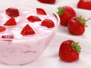 Клубничный йогурт (с 1,5 лет)