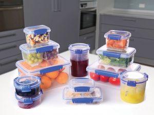 Пищевые контейнеры, как инвентарь повседневной жизни