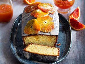 Готовим кекс с красными апельсинами