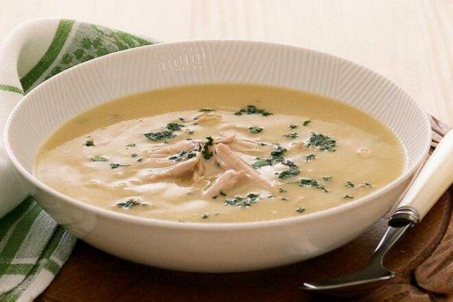 Нежный суп-пюре из куриного филе