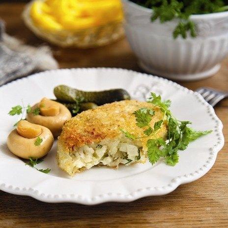Рецепт капустных котлет