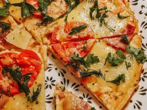 ПП-пицца на сковороде за 10 минут