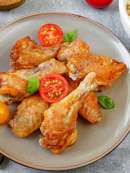 Куриные крылышки в перечном маринаде