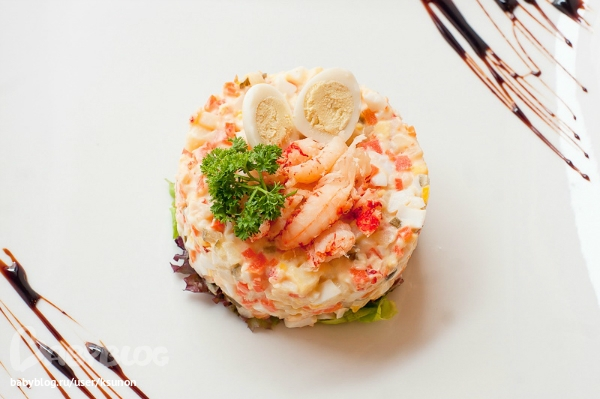 Настоящий рецепт салата «Оливье»